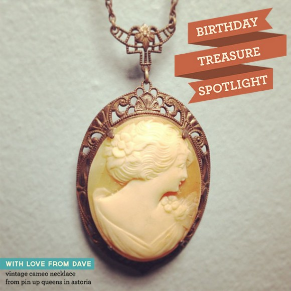 Cameo Necklace Post